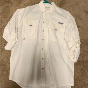 Columbia white shirt